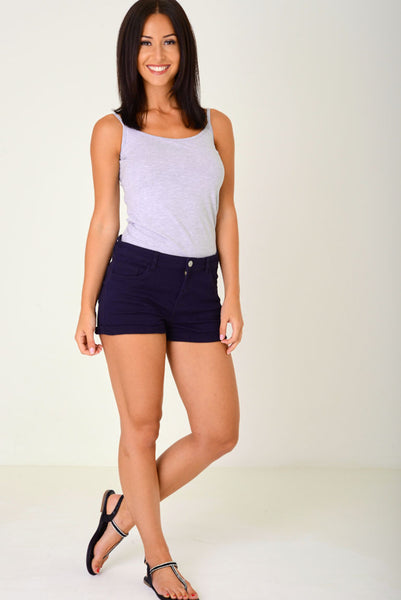 Denim Shorts in Navy Ex Brand