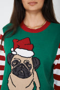 Unisex Ugly Christmas Bulldog Sweater-Fabulous Bargains Galore