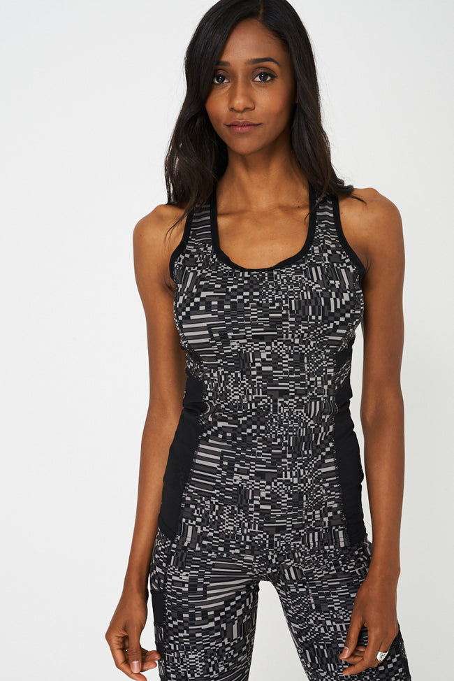 Sports Tank Top And Leggings Set-Fabulous Bargains Galore