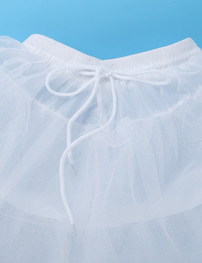 Childrens underskirts for dresses with drawstrings-Fabulous Bargains Galore
