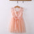 Pink Tulle Crochet Lace Girls Dress - Fabulous Bargains Galore