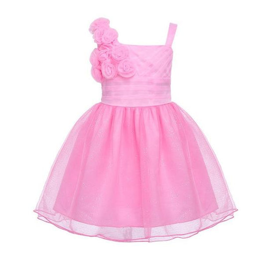 Baby pink flower girl dresses-Fabulous Bargains Galore