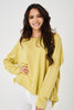 Yellow Oversized Jumper Ex Brand