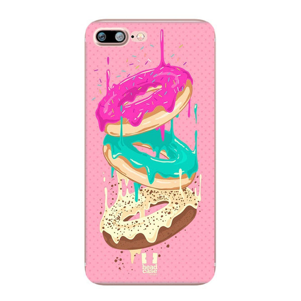Ring Donuts Design Soft Ultra Thin Transparent iPhone 7 Case