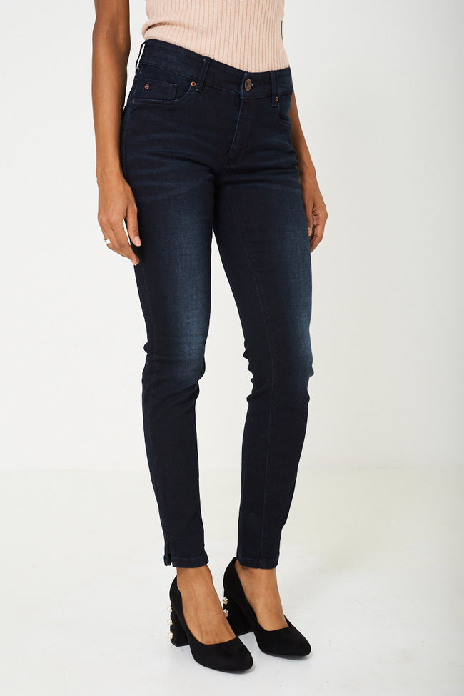 Dark Navy Skinny Jeans Ex Branded-Fabulous Bargains Galore