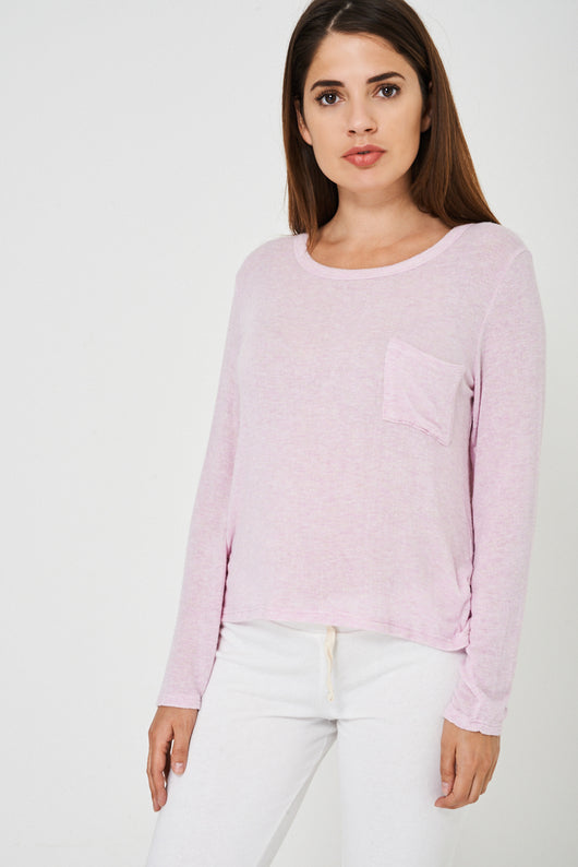 BIK BOK Soft Touch Top in Pink-Fabulous Bargains Galore