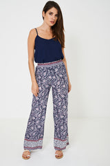 Wide Leg Summer Trousers