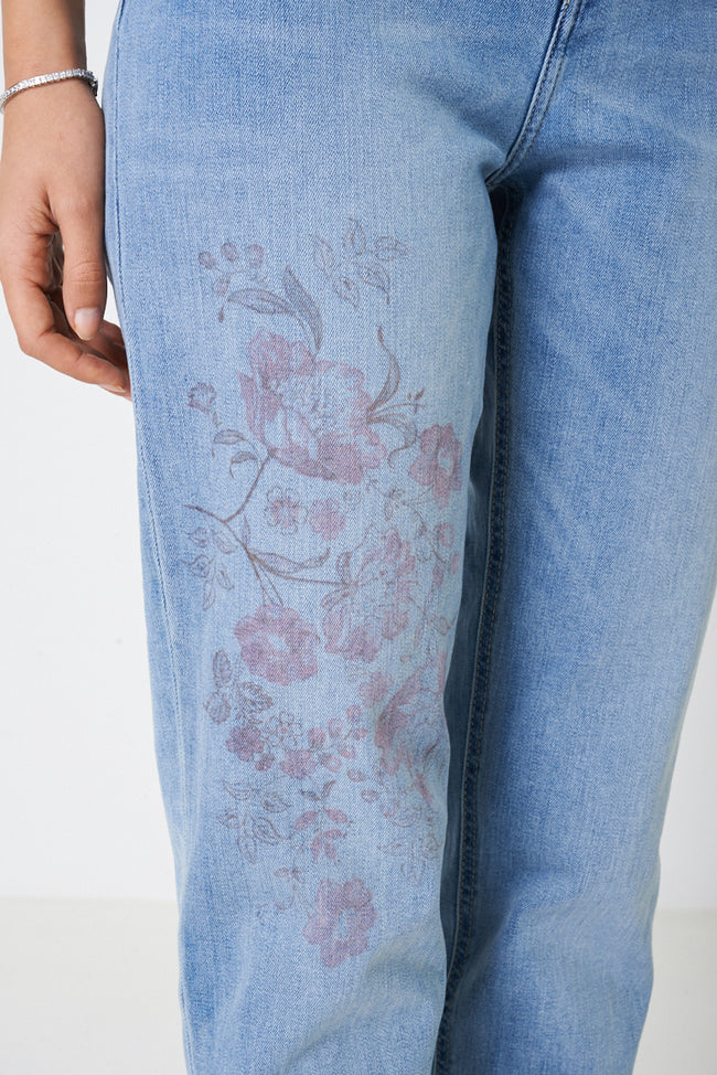 TALL Relaxed Slim Jeans in Blue Ex Brand-Fabulous Bargains Galore