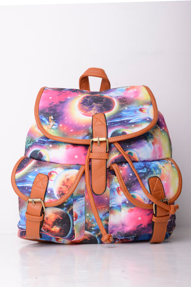 Galaxy Print Backpack-Fabulous Bargains Galore