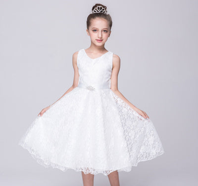 Sleeveless Girls Party Dress - Fabulous Bargains Galore
