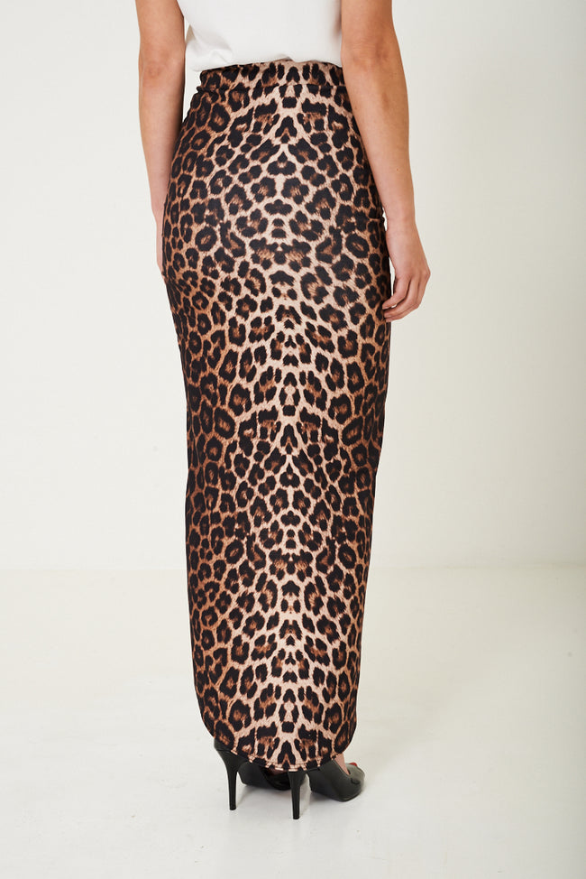 Animal Print Maxi Skirt-Fabulous Bargains Galore