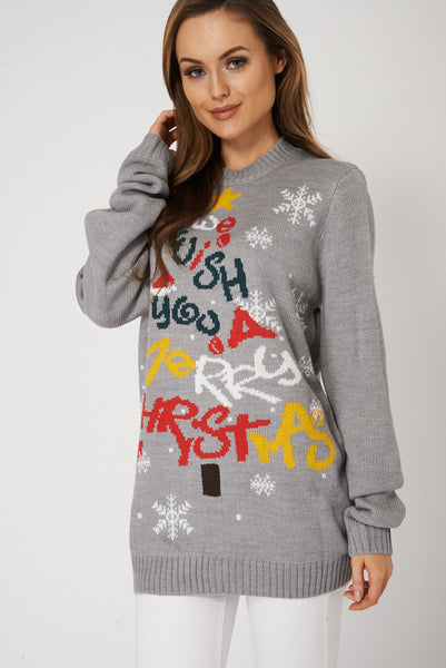Warm Festive Boyfriend Sweater Perfect For Christmas