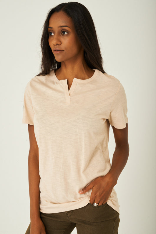 Basic Top in Beige - Fabulous Bargains Galore