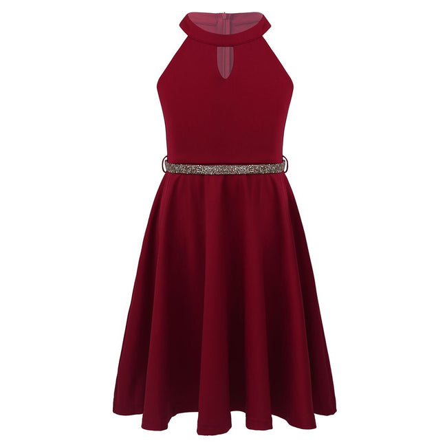 Teenage girl red party dress up to age 14 years-Fabulous Bargains Galore