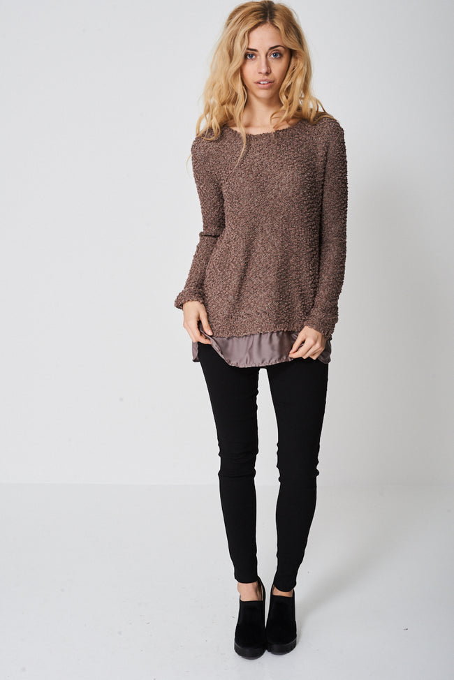 Knitted Comfy Jumper-Fabulous Bargains Galore
