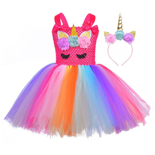 Unicorn inspired dress up to age 12 years-Fabulous Bargains Galore