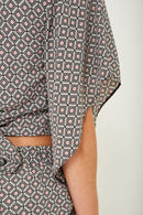 Mix and Match Printed Kimono Crop Top - Fabulous Bargains Galore