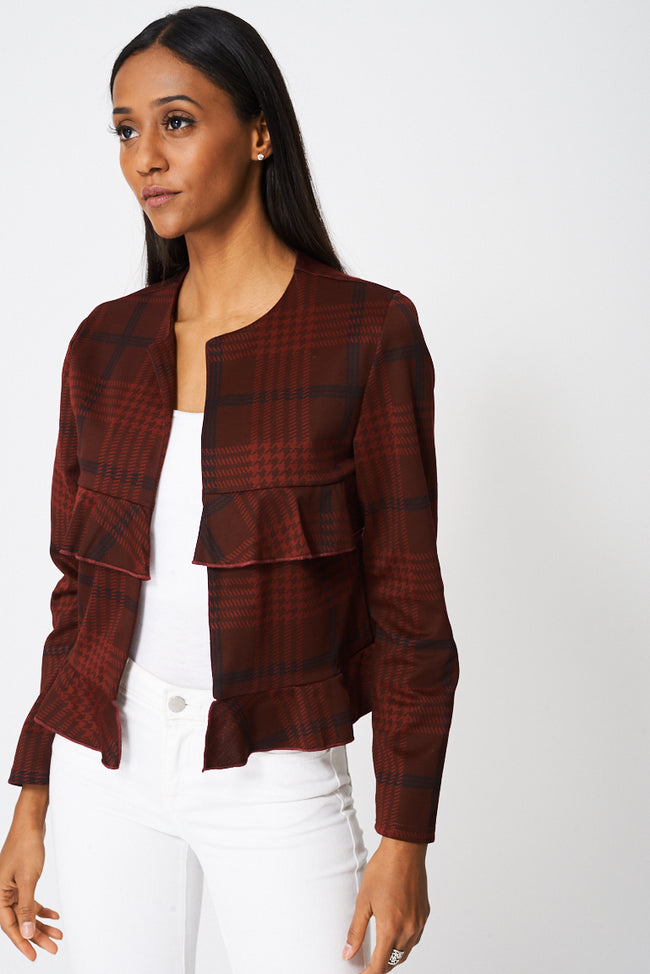 Blazer With Frills Ex-Branded-Fabulous Bargains Galore