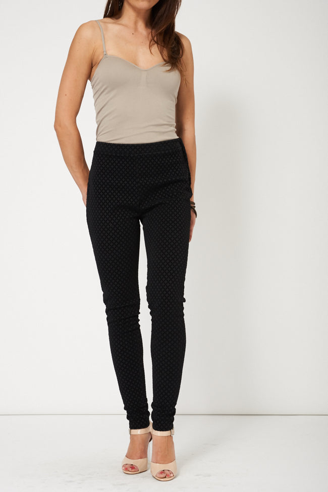 Trendy Black Skinny Trouser Ex-Branded-Fabulous Bargains Galore