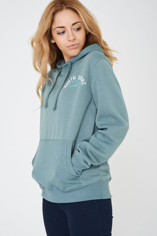 Pullover Hoodie In Green-Fabulous Bargains Galore