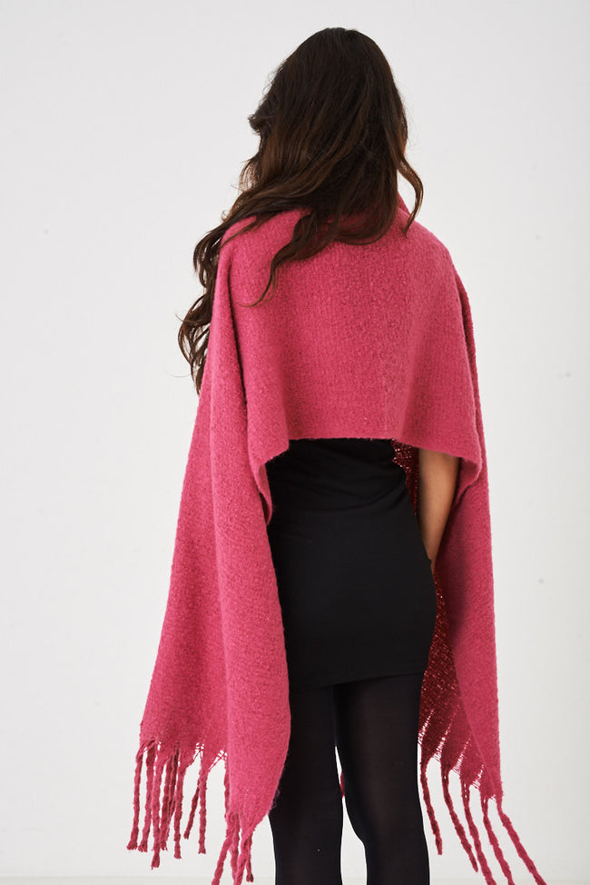 Supersoft Pink Scarf-Fabulous Bargains Galore