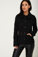 Black Cargo Jacket Ex Brand-Fabulous Bargains Galore