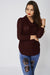 Knit Cowl-Neck Jumper-Fabulous Bargains Galore
