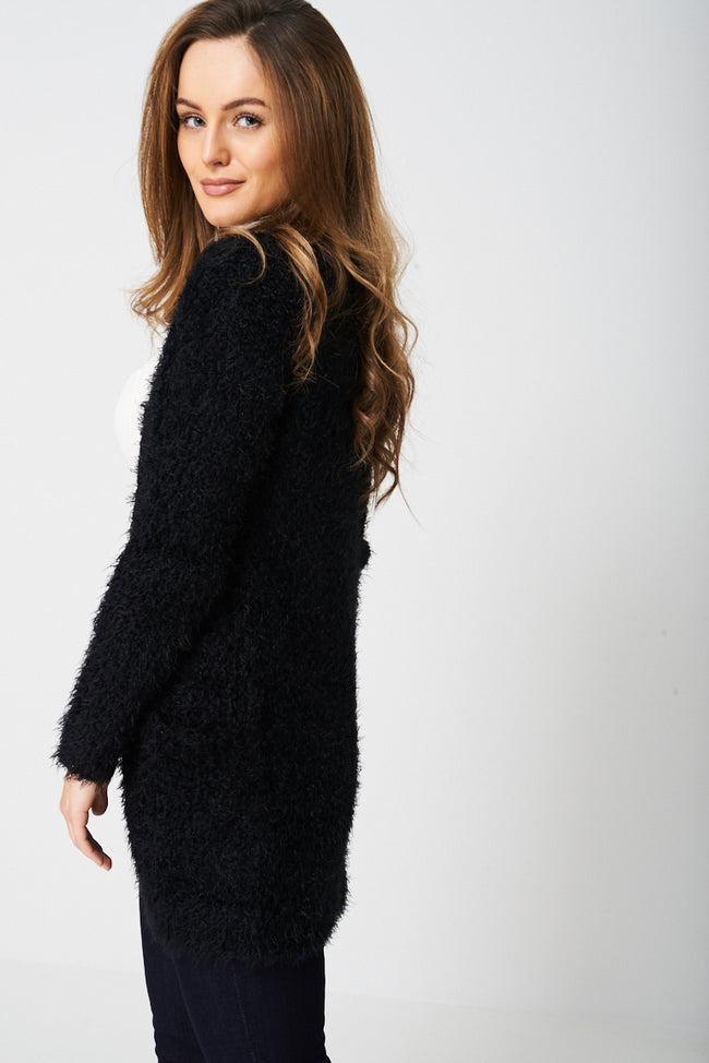 Super Soft Cardigan in Fluffy Finish-Fabulous Bargains Galore