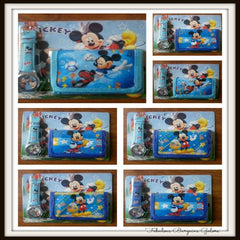 Mickey Mouse Wallet and Wrist Watch Gift Set