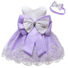 Baby girl dresses party wear in purple up to 24 months-Fabulous Bargains Galore