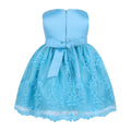 Blue lace toddler dress up to 18 months-Fabulous Bargains Galore