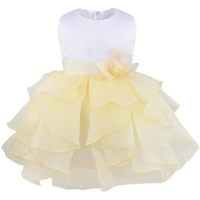 Baby organza dress up to age 3 years-Fabulous Bargains Galore
