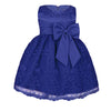 Blue lace toddler dress up to 18 months
