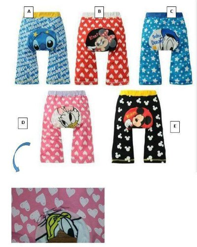 Baby character leggings