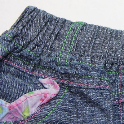 Cute Denim Look Girls Summer Short | Summer Clothes For Girls- Fabulous Bargains Galore