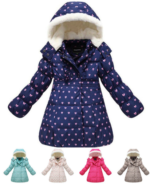 Cute Parka Thick Warm Girls Winter Coat