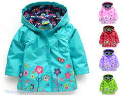 Cute Hooded Light Coat for Girls