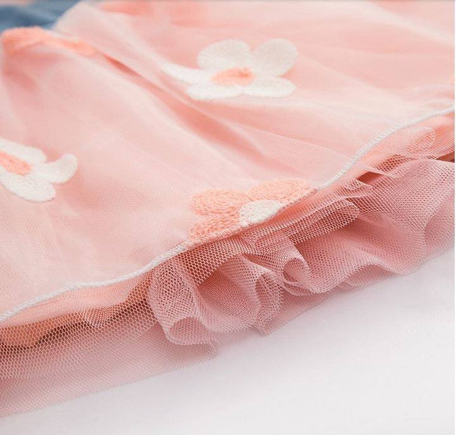 Pink tulle dress girl up to age 3 years-Fabulous Bargains Galore
