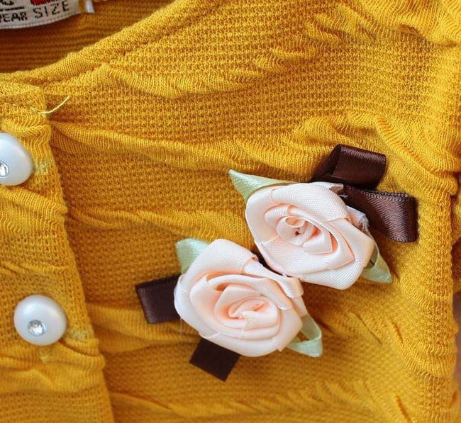 Yellow party dress for baby girl for age 12-18 months-Fabulous Bargains Galore