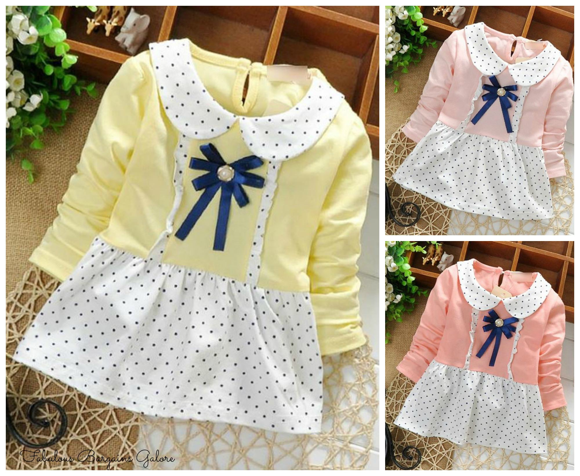 Cute Polka Dot Baby Summer Dress