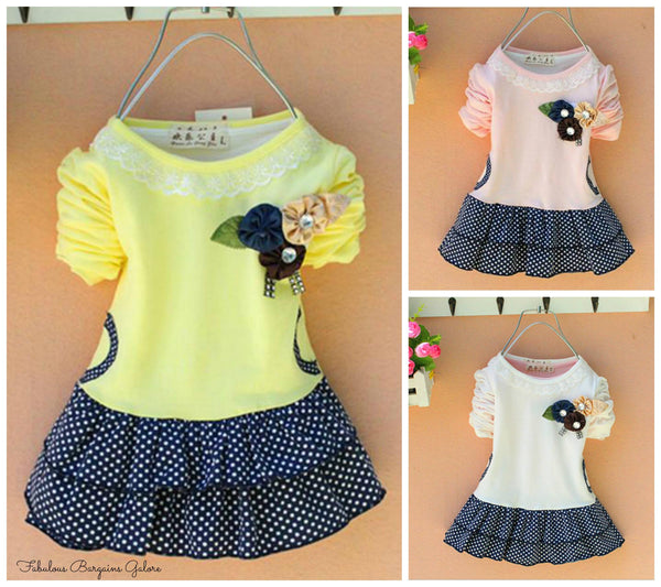 Cute Baby Girl Short Dress
