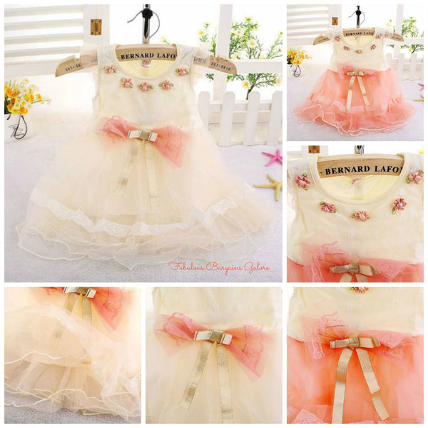 Cute Occasion Dress for Baby Girls