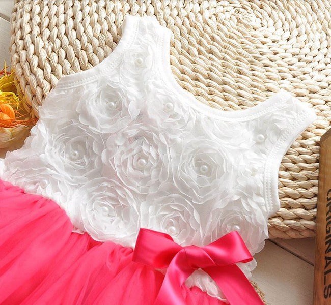 Baby girl pink tulle dress up to age 3 years-Fabulous Bargains Galore