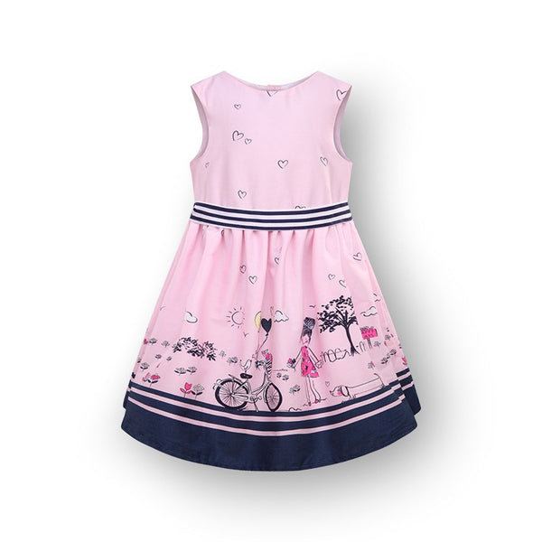 Baby Girl Toddler Pink Occasion Dress