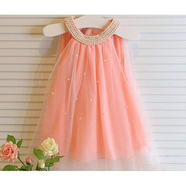 Sale -  Baby Girl Toddler Sleeveless Occasion Summer Dress
