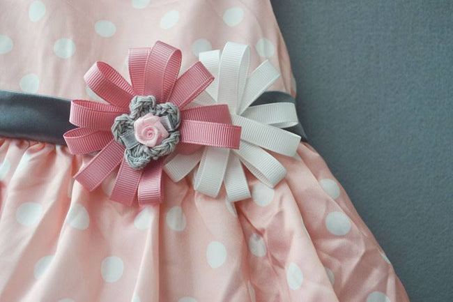 Toddler girl party dress in pink up to 18 months-Fabulous Bargains Galore