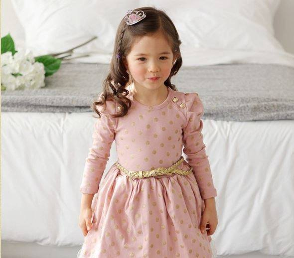 Girls long sleeve navy dress up to age 7 years-Fabulous Bargains Galore