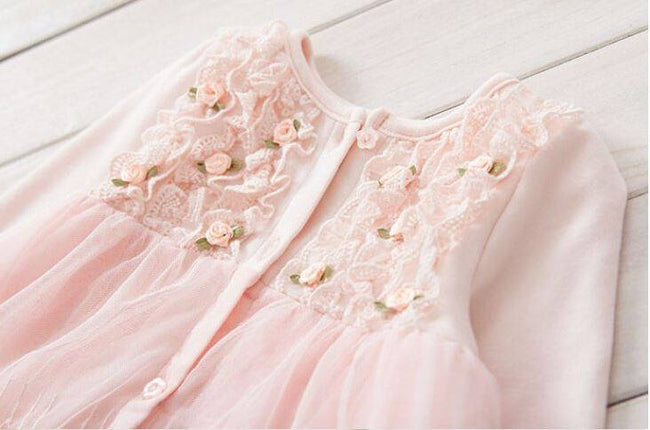 Girls lace and tulle dress up to 24 months-Fabulous Bargains Galore