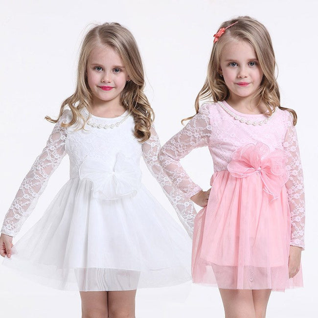 Long sleeve toddler party dress up to age 3 years-Fabulous Bargains Galore