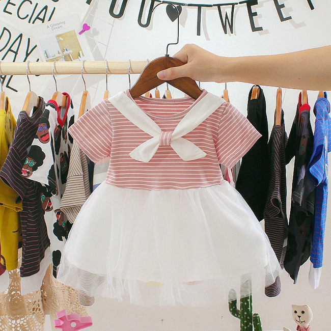 Dusty pink baby dress-Fabulous Bargains Galore